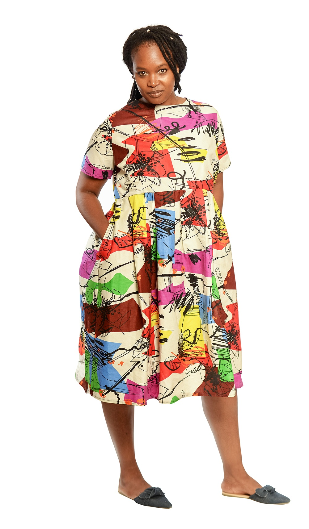 ASH-54 The Doll Dress with pocket detail R700 -